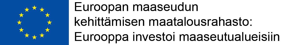Rahoittajalogo https://www.ely-keskus.fi/web/ely/euroopan-maaseuturahasto