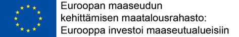 Rahoittajalogo https://www.ely-keskus.fi/web/ely/euroopan-maaseuturahasto#.Wgwx-WiCyUk
